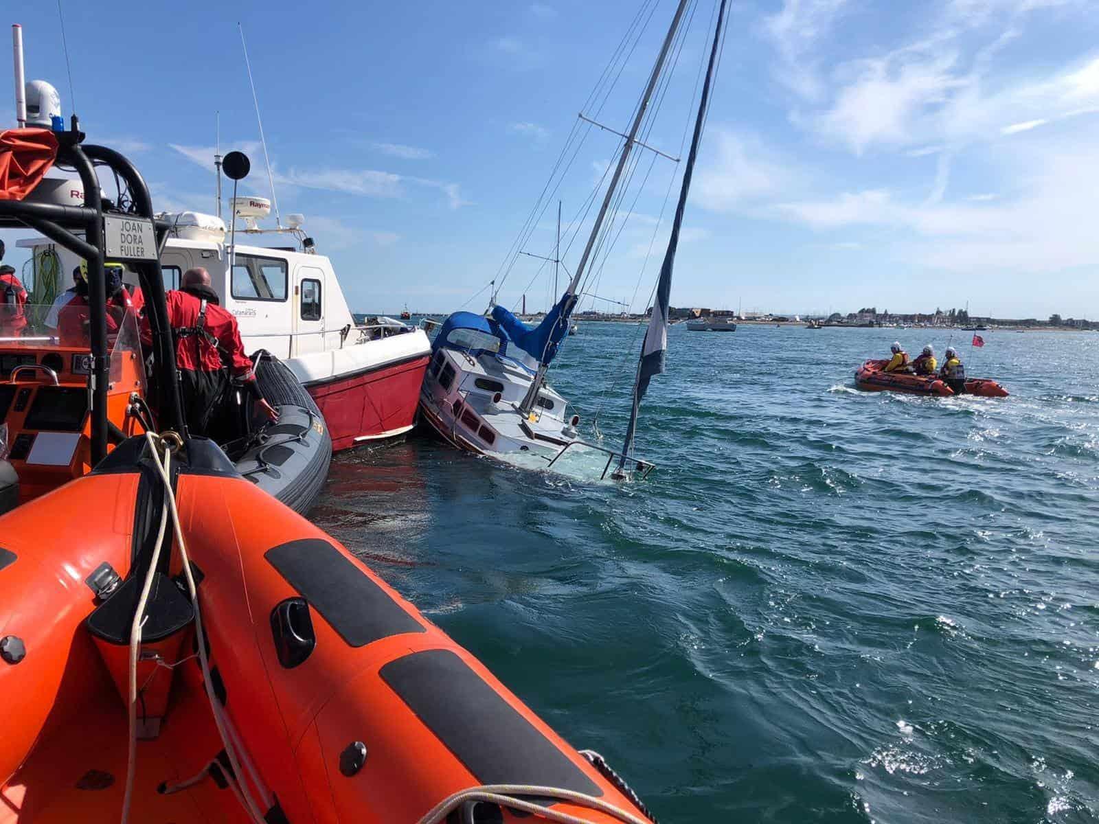 Photo: Portsmouth Lifeboat / RNLI